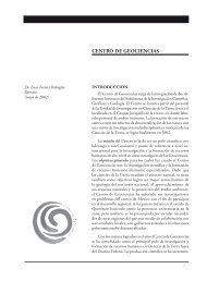 CENTRO DE GEOCIENCIAS - UNAM