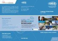 Visit IALC.org for - International Association of Language Centres