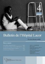 Septembre (bulletin_de_l_hopital_lacor_2008_4 ... - Fondazione Corti