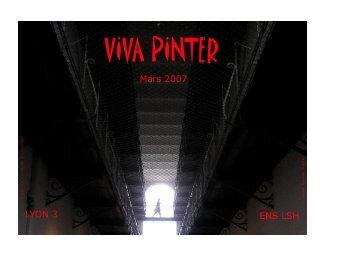 viva pinter - Sens Public