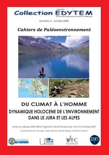 Couv-Juralp ro-vo minuscule.ai - Edytem - Université de Savoie