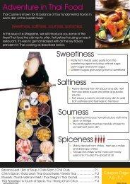 FBW e-magazine - Adventure in Thai food - FoodByWeb