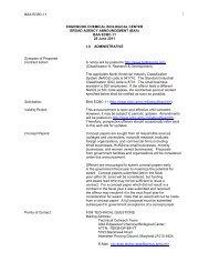 BAA - Edgewood Chemical Biological Center - U.S. Army