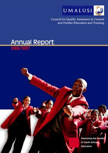 Annual Report 2006/2007 - Umalusi