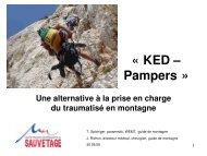 KED evacuation II - Association Nationale des Médecins du Secours ...