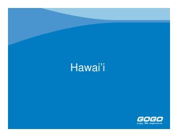 Hawaii Destination Training - GOGO Worldwide Vacations