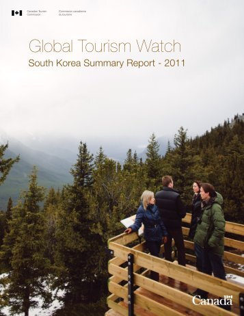 Global Tourism Watch South Korea Summary Report - Canadian ...