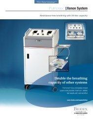 Data Sheet, Pulmonex II Xenon System & Accessories - Biodex