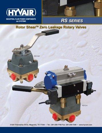 Rotor Shear™ Valves - Hyvair