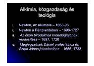 Alkímia, közgazdaság és teológia