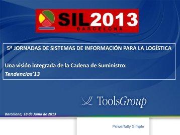 Enric Parera - Toolsgroup - SIL