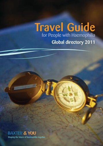 Travel Guide - Haemophilia and You