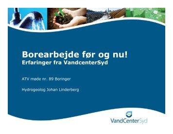 Johan Linderberg - ATV - Jord og Grundvand
