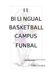 Dossier del Campus - Club Baloncesto Juan de Austria
