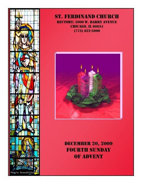 st. ferdinand church fourth sunday of advent - Parafia św ...