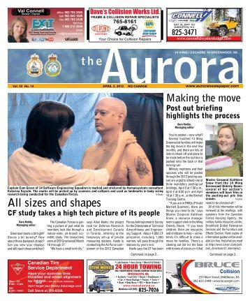 Apr 2 2012 - The Aurora Newspaper