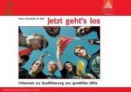Kleine Arbeitshilfe für JAV'is - IG Metall Jugend  Potsdam