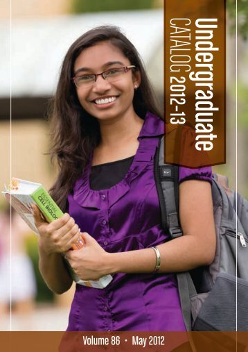2012-13 Undergraduate Catalog - Bob Jones University