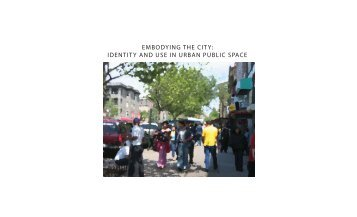 embodying the city - Digital Library and Archives - Virginia Tech