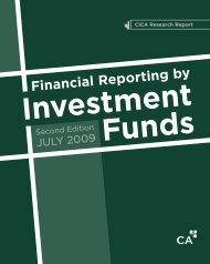 Financial Reporting by Investment Funds - Second Edition
