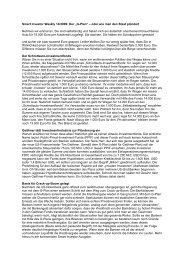 """Smart Investor Weekly 14/2009: Der """"G-Plan"""" – oder wie man den ..."""