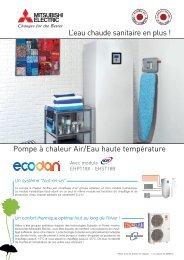 L'eau chaude sanitaire en plus ! Pompe à chaleur Air ... - Climatic'Elec