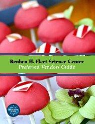 Preferred Vendors Guide - Reuben H. Fleet Science Center