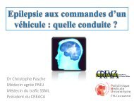 Dr Christophe Pasche - Institut universitaire romand de Santé au ...