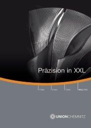 Präzision in XXL - UNION Werkzeugmaschinen GmbH Chemnitz