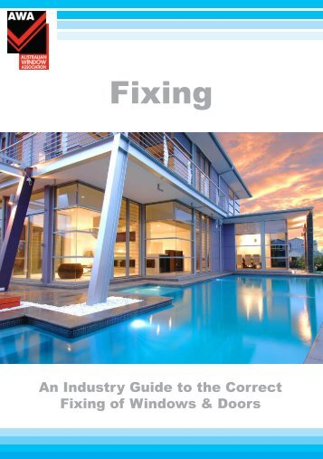 Fixing Guide for Windows and Doors - Welcome to Qualital Downloads