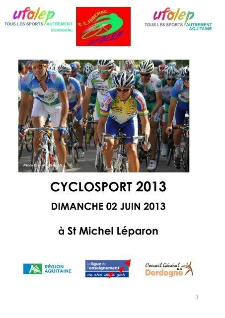 CYCLOSPORT 2013
