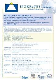 IPOKRaTES Foundation Clinical Seminar PEDIATRIC ... - M:Con