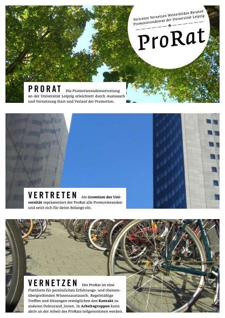 Flyer - Der PromovierendenRat - Universität Leipzig