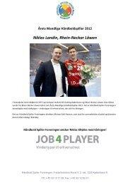 Niklas Landin, Rhein-Neckar Löwen - Håndbold Spiller Foreningen