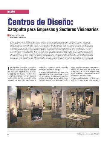 Centros de Diseño: - Revista El Mueble y La Madera