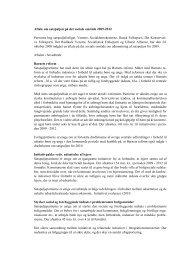 Aftale om satspuljen på det sociale område 2009-2012 Partierne ...