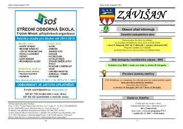 zpravodaj-listopad 2011 - Závišice