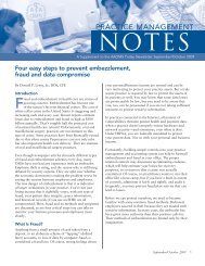 Four easy steps to prevent embezzlement, fraud and data compromise
