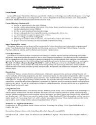 Syllabus - CMS School Web Sites