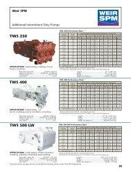 TWS 400 TWS 250 TWS 500 LW - Weir Oil & Gas Division