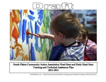 T & TA Plan - South Plains Community Action Association, Inc.