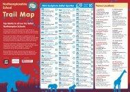 Northamptonshire School Trail Map - Go Safari Northampton