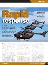 Article on the UH-72A Lakota Light Utility Helicopter - Wescam