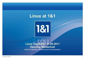 Linux at 1&1 - Kamailio