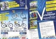 """FLYER """"T9 De uxe"""" Elektro-Bike - Zweirad  Vogel GmbH"""
