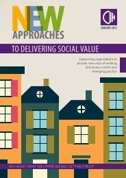 New approaches to social value