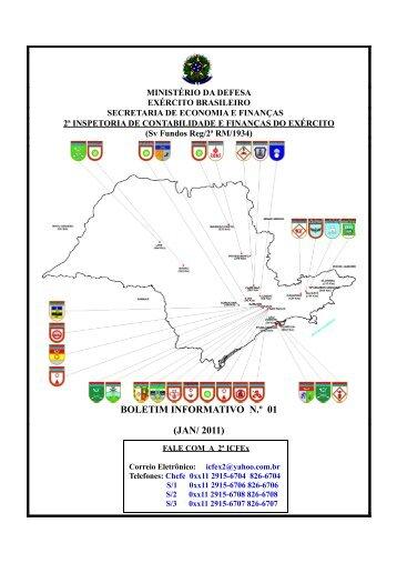 31 Jan 11 - 2ª ICFEx - O Exército