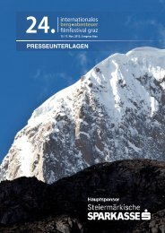 berg abenteuer - Internationales Berg und Abenteuer Filmfestival