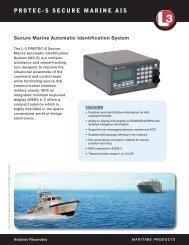 PROTEC-S SECURE MARINE AIS - L-3 Aviation Recorders