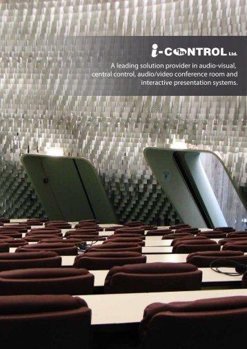 Company Brochure - i-CONTROL